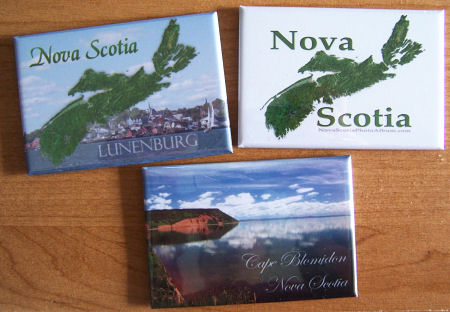 Nova Scotia fridge magnets