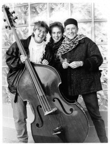 The Rose Vaughan Trio in the early 1990s.